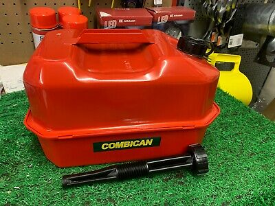 £30 • Buy  Petrol Can Fuel Can 5 Litre Combican With Toolbox Chainsaw Strimmer