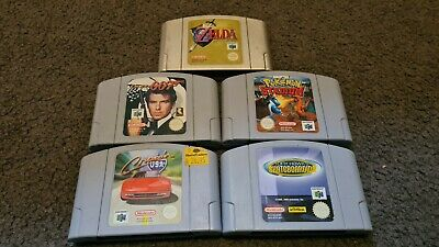 AU160 • Buy N64 Game Collection, High Quality Titles Zelda, Pokemon