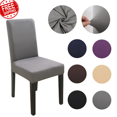 AU9 • Buy Fabric Chair Cover For Dining Room Chairs Covers High Back Chair Cover For Sofa