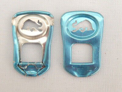 Four RedBull Light Blue Can Ring Pulls (limited Edition) • 0.99£