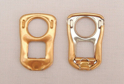 200 Gold Square Can Ring Pulls • 4£