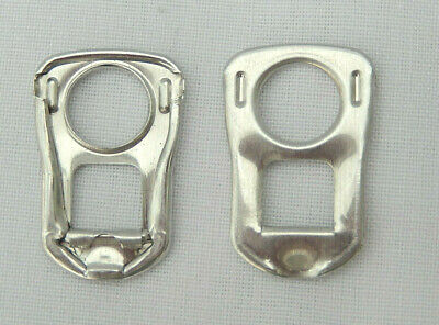 250 Silver Square Can Ring Pulls • 4£