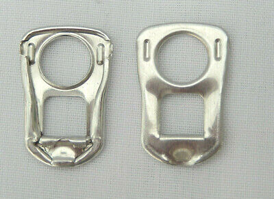 500 Silver Square Can Ring Pulls • 6£