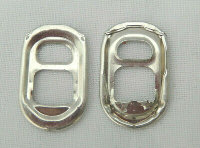 500 Silver Oval/Buckle Can Ring Pulls • 6£