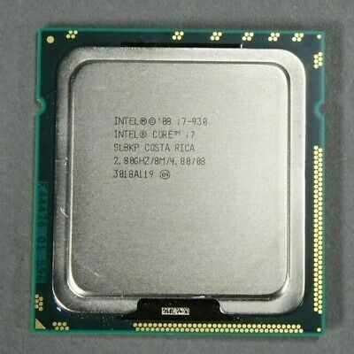 $ CDN18.13 • Buy INTEL CPU Processor I7 930 2.80 GHz LGA 1366 | SLBKP - TESTED