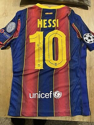 AU698.89 • Buy Leo Messi Jersey Signed With COA.