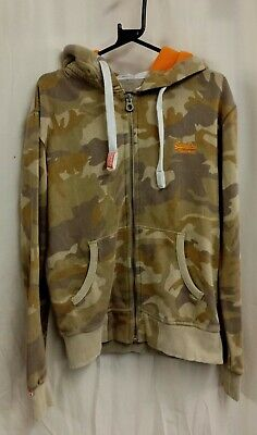 Superdry  Hoodie... Camouflage .. Size S .. Pre Owned • 9.99£