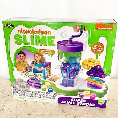 AU25.75 • Buy Cra-Z-Art Nickelodeon Super Slime Studio Craft Kit NEW SEALED