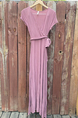 AU25.75 • Buy Mother Bee Maternity Pink Maxi Dress