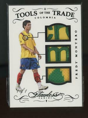AU1.28 • Buy 2016 Panini Flawless Tools Of The Trade Fredy Montero 1/1 Patch Jersey