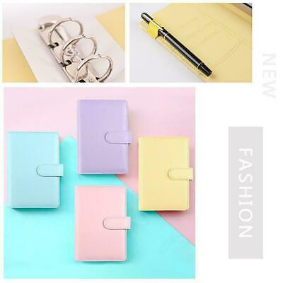 AU9.32 • Buy Classic Loose Leaf Ring Binder Notebook Planner Diary Cover Quali Notebook H8S0