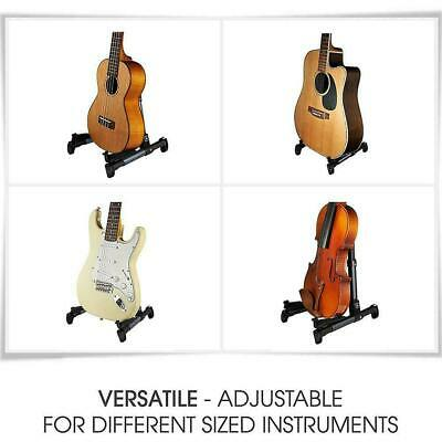 AU21.24 • Buy Electric Guitar Stand Acoustic Guitar Stand Universal Free Fold Standing Y4U7