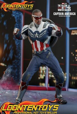 $ CDN507.85 • Buy Hot Toys 1/6 TMS040 - The Falcon And The Winter Soldier - Captain America