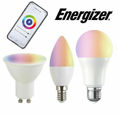 £32.39 • Buy Energizer Smart Home Bulbs 5w / 9w Colour Changing Dimmable Alexa / Google Home