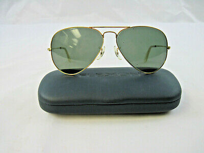 AU38.62 • Buy Vintage B & L Ray Ban USA Aviator Men's Sunglasses With Flexon Carrying Case