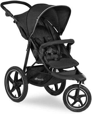 £300 • Buy Hauck Runner 2, Jogger Style, 3-Wheeler Up To 25 Kg, Pushchair With Extra Large