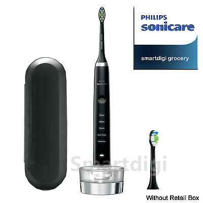 AU159.95 • Buy Philips Sonicare DiamondClean Classic Electric Power Toothbrush HX9350 Black