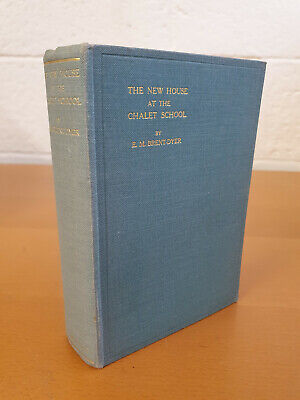 £80 • Buy ELINOR M. BRENT-DYER The New House At The Chalet School - 1st Edition 1935 - W