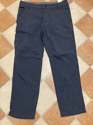Berghaus Trousers W34 L30 Navy Blue Outdoor Cargo Walking Hiking Camping Comfort • 45£