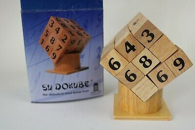 Sudoku Cube Puzzle Game Brain Teaser Adults Toy ~ Su Dokube • 3£