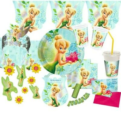 £1.45 • Buy Tinkerbell Flowers Party Kid's Birthday Motto Deco