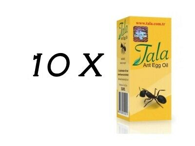 £36.27 • Buy 10 Bottle Tala Ant Egg Oil 20 Ml ✔ FREE DELIVERY ✔EXPRESS DISPATCH ✔FRESH STOCK