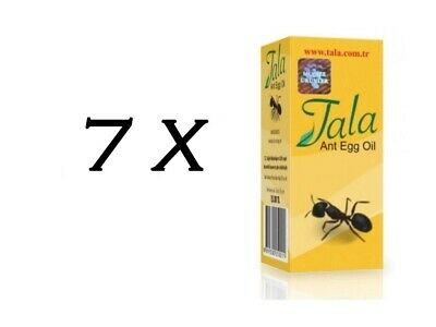 £24.81 • Buy 7 Bottle Tala Ant Egg Oil 20 Ml ✔ FREE DELIVERY ✔EXPRESS DISPATCH ✔FRESH STOCK