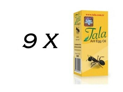£31.91 • Buy 9 Bottle Tala Ant Egg Oil 20 Ml ✔ FREE DELIVERY ✔EXPRESS DISPATCH ✔FRESH STOCK