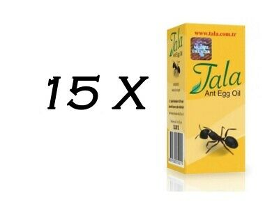 £54.46 • Buy 15 Bottle Tala Ant Egg Oil 20 Ml ✔ FREE DELIVERY ✔EXPRESS DISPATCH ✔FRESH STOCK