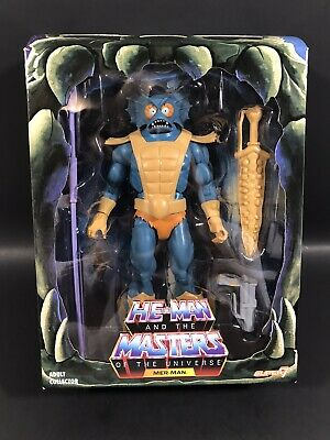 "$144.98 • Buy Masters Of The Universe Classics Club Grayskull Merman 6"" Figure Super7 Motu"