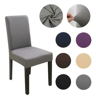 AU9.72 • Buy Fabric Chair Cover For Dining Room Chairs Covers High Back Chair Cover For Sofa
