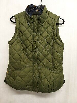 £24.99 • Buy Tom Joules Country Classic Quilted Puffer Gilet,Size 12,Colour Green