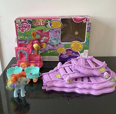My Little Pony Train Set Rainbow Dash + Extra Carriage • 20£