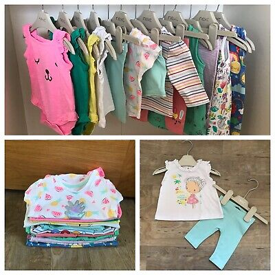AU18.04 • Buy Beautiful Baby Girls Clothes Bundle 0-3 Months - Outfits