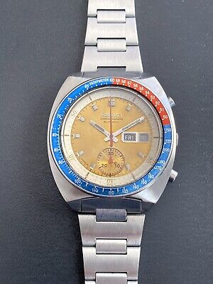 $ CDN310 • Buy Vintage Seiko Pogue Chronograph Watch 6139-6002 Mens Stainless Steel.