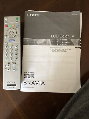 "AU50.50 • Buy Sony Bravia 32""LCD TV"