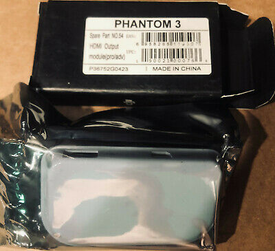 AU130.06 • Buy DJI Phantom 3 Pro/Adv Phantom 4/Pro RC Drone Part 54 HDMI Output Module - Open B