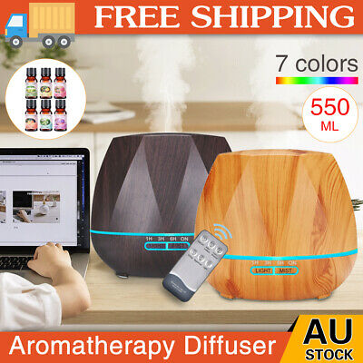 AU23.59 • Buy Aroma Essential Oil Diffuser Air Purifier LED Ultrasonic Aromatherapy Humidifier