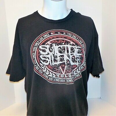 £3.50 • Buy Suicide Silence Rock Mens  Short Sleeve Graphic T-shirt XL