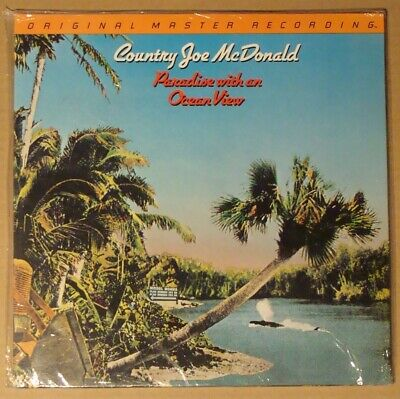 MFSL COUNTRY JOE McDONALD Paradise With An Ocean View LP SEALED Japan Half Speed • 46.76£