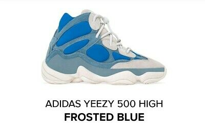 $ CDN344.62 • Buy Yeezy 500 High Frosted Blue Size 12