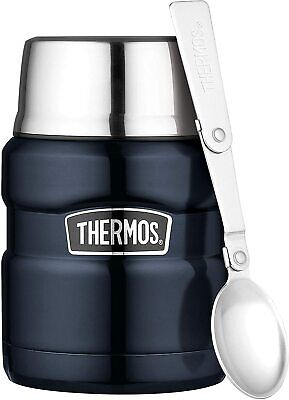 AU38 • Buy Thermos Stainless King Vacuum Insulated Food Jar (Midnight Blue) - 470mL-AU