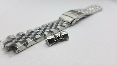$ CDN52.10 • Buy 22mm Curved Ends Solid Stainless Steel ANGUS JUBILEE Bracelet Fits Seiko SKX007