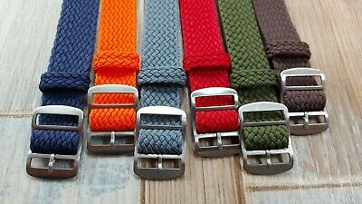 £9.99 • Buy Perlon Watch Strap. Many Colors And Sizes To Choose From.
