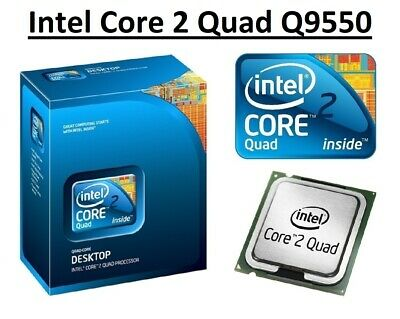 $ CDN51.08 • Buy Intel Core 2 Quad Q9550 SLB8V Quad Core 2.833 GHz, Socket LGA775, 95W CPU