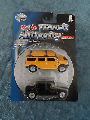 $ CDN12.10 • Buy 2004 TRANSIT AUTHORITY MAISTO Hummer Double Value Pack