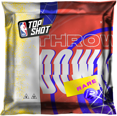 $159 • Buy NBA Top Shot - Rare Throwdowns Pack (Series 2) - Unopened Pack NFT
