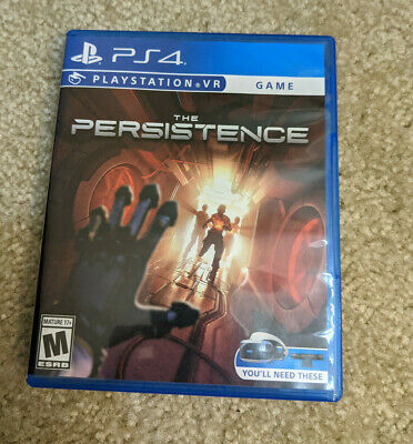 AU15.30 • Buy The Persistence (supports PS VR) For PS4 PlayStation 4 - CIB Complete With Case