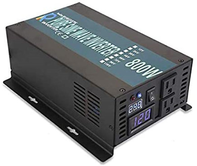 $ CDN161.79 • Buy WZRELB Backup Power Off Grid Pure Sine Wave Inverter 800W 24Vdc To 120Vac 60Hz