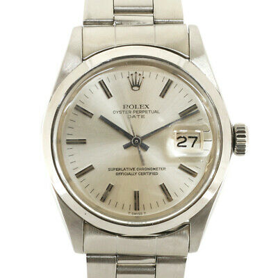 $ CDN2920.22 • Buy ROLEX Watches 1500 Silver  Stainless Steel No. 29 1969-1970 Date Used